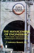Management of Engineering Human, Quality, Organizational, Legal, and Ethical Aspects of Prof...