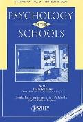Psychology in the Schools, No. 5 Implementing the Safe Schools/Healthy Students Projects