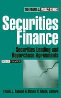 Securities Finance Securities Lending And Repurchase Agreements