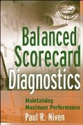 Balanced Scorecard Diagnostics Maintaining Maximium Performance