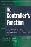 Controller's Function The Work of the Managerial Accountant