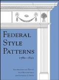 Federal Style Patterns 1780-1820 Interior Architectural Trim and Fences  Interior Doors, Doo...