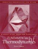 Fundamentals of Thermodynamics, Work Example Supplement