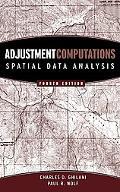 Adjustment Computations Spatial Data Analysis
