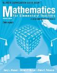 Mathematics For Elementary Teachers A Contemporary Approach- Illinois Correlation Guide Book
