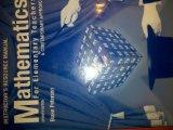 Mathematics for Elementary Teachers: A Contemporary Approach Instructor's Resource Manual 7t...