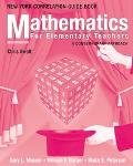 Mathematics For Elementary Teachers A Contemporary Approach; New York Correlation Guide Book