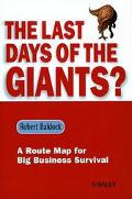 Last Days of the Giants? A Route Map for Big Business Survival