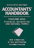 Accountants' Handbook Financial Accounting and General Topics