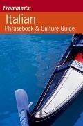 Frommer's Italian Phrasebook and Culture Guide