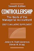 Controllership The Work of the Managerial Accountant
