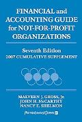 Financial and Accounting Guide for Not-for-profit Organizations 2007 Cumulative Supplement