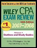 Wiley Cpa Examination Review, 2007-2008 Outlines and Study Guides