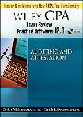 Wiley CPA Exam Review Practice Software 12.0 Auditing and Attestation