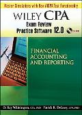 Wiley Cpa Exam Review Practice Software 12.0 Financial Accounting and Reporting