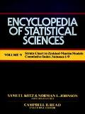 Encyclopedia of Statistical Sciences