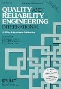 Quality and Reliability Engineering International