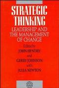 Strategic Thinking Leadership and the Management of Change