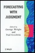 Forecasting With Judgement
