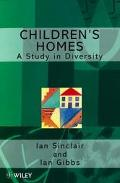 Children's Homes A Study in Diversity