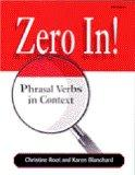 Zero in: Phrasal Verbs in Context