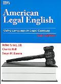 American Legal English, Second Edition