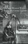 Major Women Writers of Seventeenth-Century England
