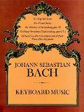 Keyboard Music The Bach-Gesellschaft Edition