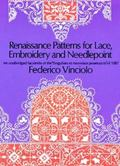 Renaissance Patterns for Lace and Embroidery; An Unabridged Facsimile of the 'Singuliers Et ...