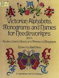 Victorian Alphabets, Monograms and Names from Godey's Lady's Book and Peterson's Magazine