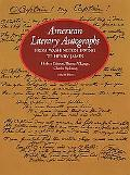 American Literary Autographs, from Washington Irving to Henry James