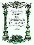 Marriage of Figaro (Le Nozze Di Figaro) in Full Score