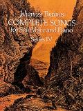 Complete Songs for Solos Voice and Piano, Series 4
