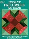 Favorite Patchwork Patterns: Full-Size Templates and Instructions for 12 Quilts