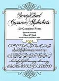 Script and Cursive Alphabets 100 Complete Fonts