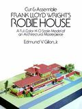 Cut and Assemble Frank Lloyd Wright's Robie House