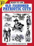 Ready to Use Old Fashioned Patriotic Cuts Copyright-Free Designs, Printed One Side, Hundreds...