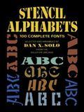 Stencil Alphabets 100 Complete Fonts