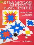 27 Star Patchwork Patterns With Plastic Templates