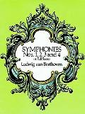 Symphonies Nos. 1,2,3 and 4 in Full Score