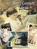 Mary Cassatt Postcards 24 Full Color Ready-To-Mail Cards