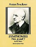 Symphonies Nos. 4 and 7 in Full Score