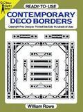 Ready-To-Use Contemporary Deco Borders