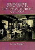 1912 and 1915 Gustav Stickley Craftsman Furniture Catalogs