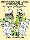 Mecca 1911 Double-Folder Baseball Cards Complete Set of 50 in Full Color