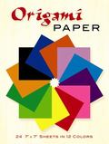 Origami Paper Includes 24 Sheets of Color Paper in 12 Colors