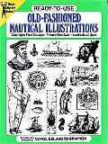 Ready-To-Use Old-Fashioned Nautical Illustrations Copyright-Free Designs, Printed One Side, ...