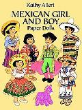 Mexican Girl and Boy Paper Dolls