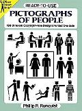 Ready-To-Use Pictographs of People 198 Different Copyright-Free Designs Printed One Side