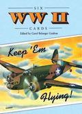 Six World War II Postcards